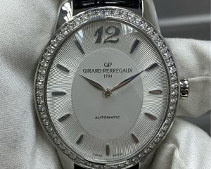 Girard-Perregaux Cat's Eye Majestic Ladies Diamond Bezel Automatic Watch  80493D11A131CK6A