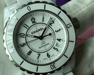 Chanel J12 White Ceramic Automatic Date H0970