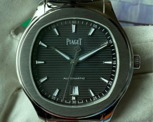 Piaget POLO S Grey Guilloche Dial Automatic Date GOA41003
