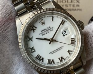 Rolex Datejust White Dial 36mm 16220