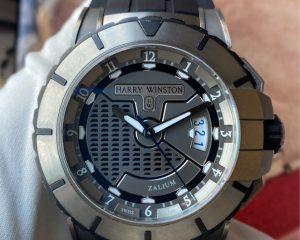 Harry WinstonOcean Sport Date 411/MA44Z - Zalium