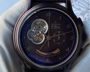 EL Primero Open Chronomaster Power Reserve Chocolate Limited Edition 100 Millesime 2006