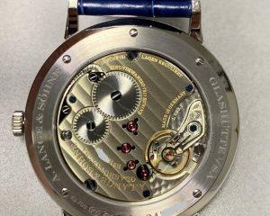 A. Lange & Söhne Saxonia Thin Copper Blue Dial 205.086