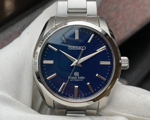 Grand Seiko Blue Dial SBGR097 Limited Edition 500 Pcs  for 55 Years anniversary