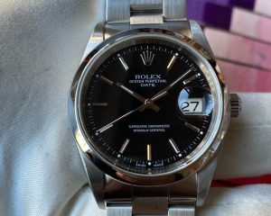 Rolex Oyster Perpetual Date 15200 Black Dial