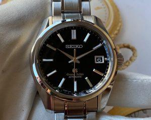 Grand Seiko Black Dial SBGR083 Limited Edition 700 Pcs