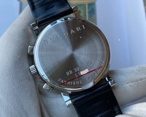 Bvlgari Chronograph Black Dial 38mm Automatic BB38SL