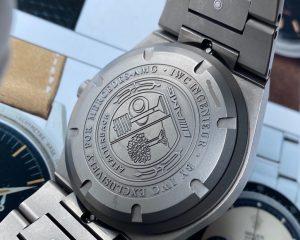 IWC Ingenieur Black Dial IW322702 Automatic Titanium AMG Edition