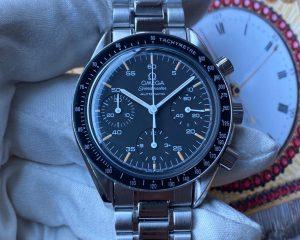 Omega Speedmaster Chronograph Reduced Black Dial 3510.50