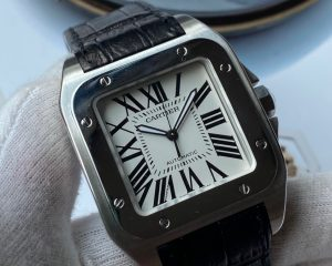 Cartier Santos 100 Stainless Steel Jumbo Size W20073X8