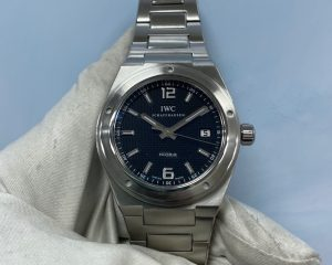 IWC Ingenieur Black Dial IW322701 Automatic Stainless Steel 42mm