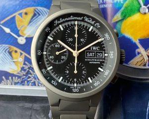 IWCGST Chronograph Titanium Automatic Black Dial 370703