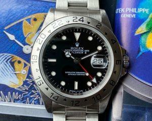 Rolex Explorer II Black Dial 16570 U Series
