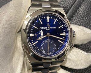 Vacheron Constantin Overseas Dual Time Blue Dial 7900V/110A-B334