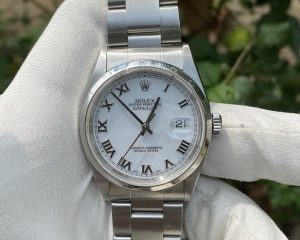 Rolex Oyster Perpetual Datejust 16200 White Dial 36mm
