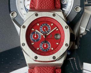Audemars PiguetRoyal Oak Offshore Chronograph Red Dial 25770ST.0.0009.04