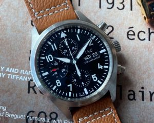 IWC Pilot Watch Chronograph Automatic Day, Date Chronograph IW31704