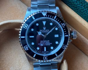 Rolex Sea-Dweller 4000 Ref 16600 F Series Box & Papers