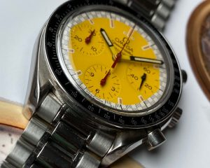 Omega Speedmaster Schumacher Yellow SS Automatic 3510.12