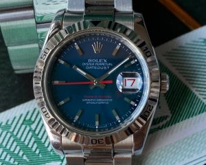 Rolex Turn-O-Graph DateJust 116264 Blue Dial Stainless Steel