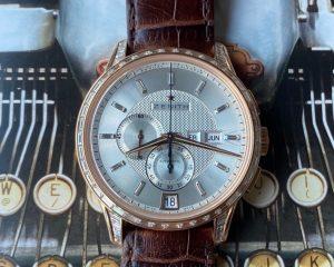 Zenith Captain Winsor Annual Calendar Chronograph Rose Gold Diamond Bezel22.2071.4054/03.C711