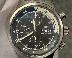 IWC Aquatimer Chronograph Stainless Steel Black Dial IW371928
