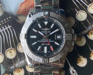 Breitling Avenger II GMT Black Dial 43mm A3239011/BC35