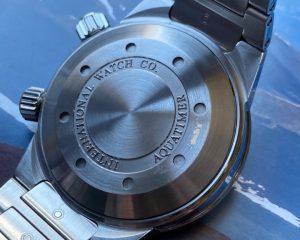 IWC Aquatimer Stainless Steel Black Dial IW354801 Box & Card
