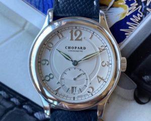 Chopard 1875 White Dial L.U.C. 18K White Gold Automatic Watch