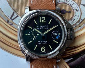 Panerai PAM 104 N Luminor Marina Automatic 44mm Box & Papers