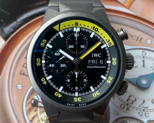 IWC Aquatimer Chronograph Titanium Black Dial REF. IW371903