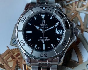 Tudor Prince Date Hydronaut Stainless Steel Automatic Black 85190Tudor Prince Date Hydronaut Stainless Steel Automatic Black 85190