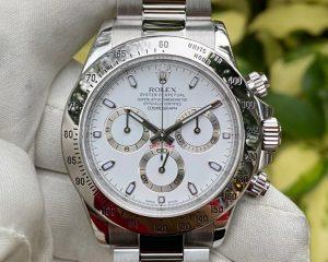 Rolex Daytona 116520 White Dial Stainless Steel Random Series