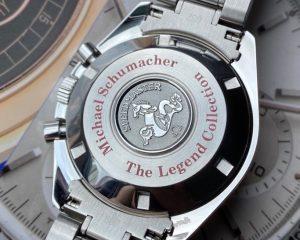 Omega Speedmaster The Legend Michael Schumacher 35075100 Box & Card
