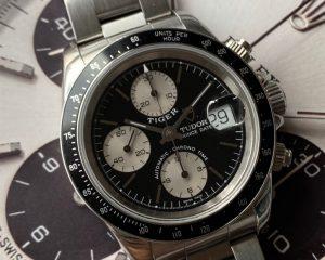 Tudor Big Block Chronograph Black Dial 79260P