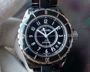 Chanel J12 Black Ceramic Automatic Date 38MM H0685