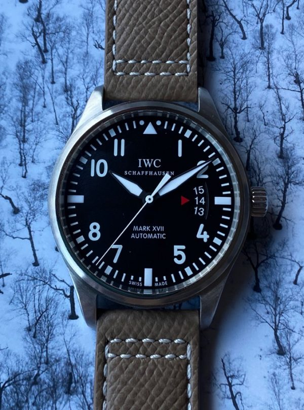 IWC Pilot Mark XVII Black Dial 41MM IW326501