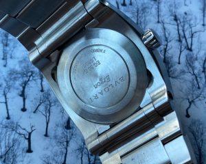 Bvlgari EG35S Ergon 35mm Black Dial Automatic