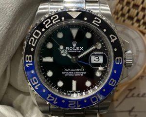 Rolex GMT-Master II Batman Oyster 116710BLNR 40mm 2019 Card