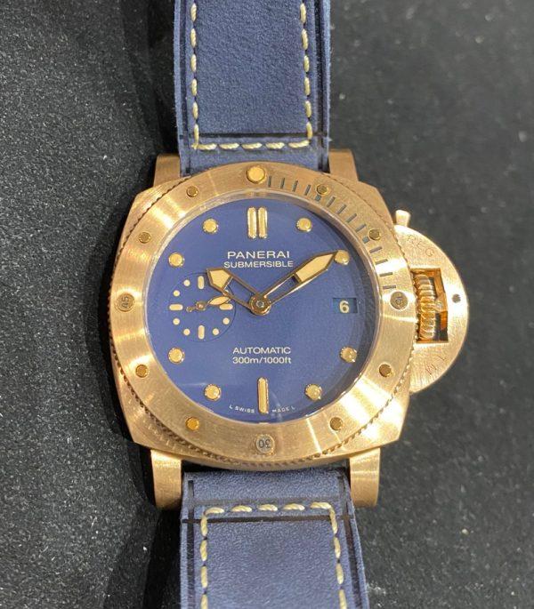 Panerai Submersible Bronzo Blue Dial Boutique Edition Pam1074