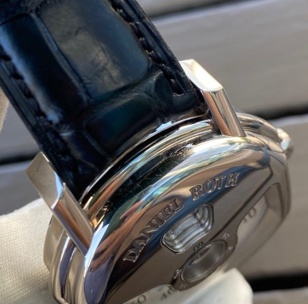 Daniel Roth Ellipsocurvex Papillon Jumping Hour 18K White Gold Limited Edition318.Y.60