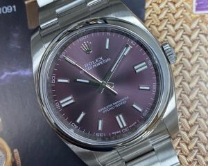 Rolex Oyster Perpetual 116000 Grape Dial 36mm