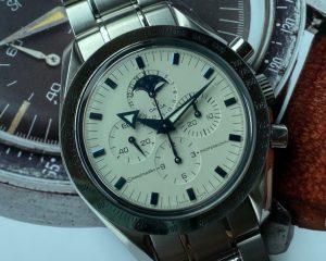 Omega Speedmaster Professional Chronograph White Dial Moonphase 3575.20 42mm