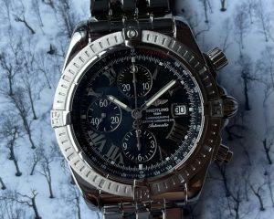 Breitling Superocean Chronograph A13340 Black Dial 42mm